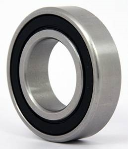 6208-RZ Radial Ball Bearing Double Shielded Bore Dia. 40mm OD 80mm Width 18mm