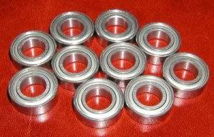10 Micro Skate Bearing 688ZZ 8x16x5 Shielded Miniature