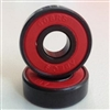 800 608B-2RS Skateboard/Inline Skate/Rollerblade/Hockey/Fidget Spinner Bearings with Nylon Cage 8x22x7mm