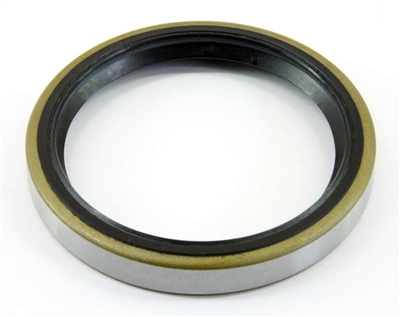 "Oil and Grease Seal 14875 Single Lip Nitrile Rotary 1 1/2""x 2 1/8""x 5/16"" metal case"