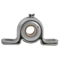 "7/8"" BEH14A Extra Strength Pillow Block Mounted Bearing 13-Gage"