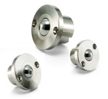 NBK Made in Japan BRDB-24 Flange Type Ball Transfer Unit for Downward and Sideward Facing Applications