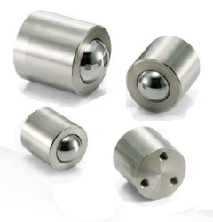NBK Made in Japan BRDT-30 Tap Hole Type Ball Transfer Unit for Downward and Sideward Facing Applications