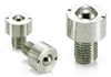NBK Made in Japan BRUCS-12-S Cap Screw Type Ball Transfer Unit for Upward Facing Applications