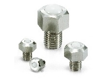 NBK Made in Japan BRUHS-8-N Hexagon Head Screw Type Ball Transfer Unit for Upward Facing Applications