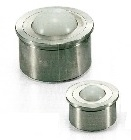 NBK Made in Japan BRUPS-15-N  Press Fit Type Ball Transfer Unit for Upward Facing Applications