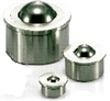 NBK Made in Japan BRUPS-18-S  Press Fit Type Ball Transfer Unit for Upward Facing Applications