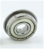 DDRF830ZZ Flanged Bearing Shielded Stainless Steel 2x6x3 Bearings