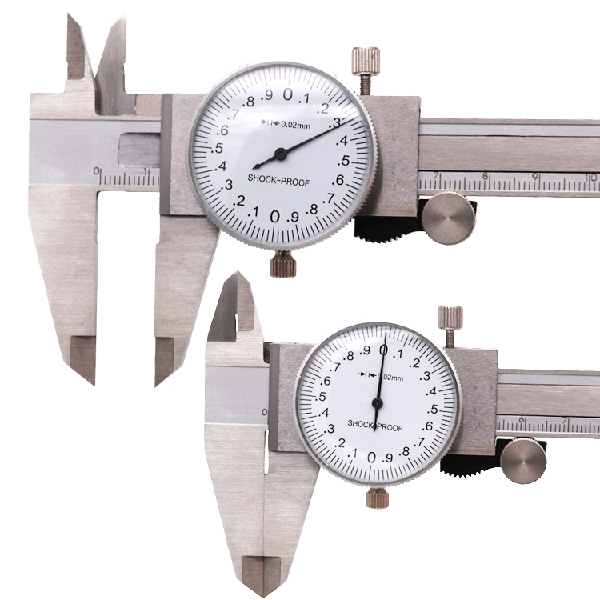 how to read a dial caliper in inches