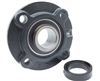 "HCFC205-16 1"" Flange Cartridge Bearing Unit Mounted Bearing with Eccentric Collar lock"
