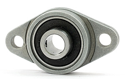 20mm Flange Bearing KFL004 Miniature Pillow Block Mounted Bearings