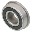 "FR155-2RS Flanged Sealed Miniature Bearing 5/32""x5/16""x9/64"""
