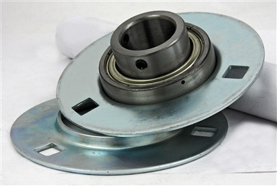SBPF207-22 Pressed Steel Housing Bearing 3-Bolt Flanged Mounted