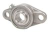 ZUCFT207-35m-PBT Flange 2 Bolt Zinc Chromate 35mm Bearing