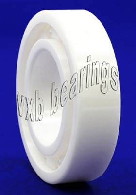 6205 Full Ceramic Open Bearing 17x26x5 ZrO2 PEEK