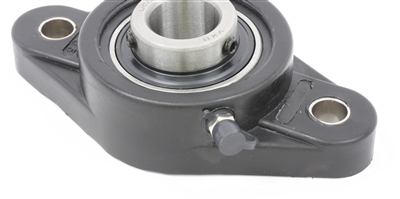 UCNFL206 30mm Bearing Flanged Cast Housing 2 Bolt Mounted Bearings