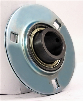 "FHSPFZ206-20 Flange Pressed Steel 3 Bolt 1 1/4"" Inch Bearing"