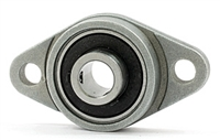 10mm Flange Bearing KFL000 Miniature Pillow Block Mounted Bearings