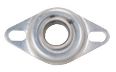 FHR204-12-4X729 Bearing Flange Pressed Steel 2 Bolt 3/4""