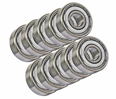 6304ZZ 20x52x15 Shielded Bearing Pack of 10