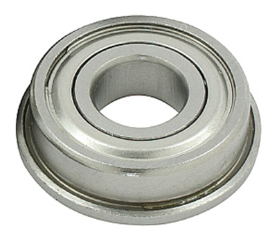 Flanged Bearing F63801ZZ 12x21x7 Shielded
