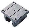 20mm Bearing Truck Open Slide Unit Linear Motion