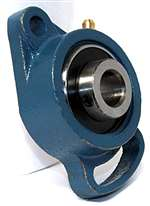 "UCFA202-10 FYH Adjustable oval 2 bolt Flanged Bearing 5/8""Mounted"