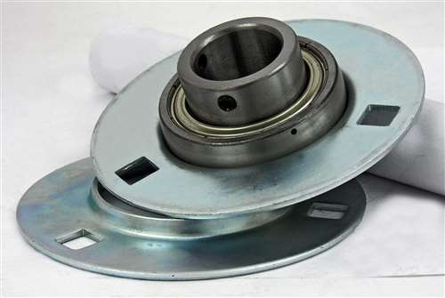 Stamped Steel Flanges : Fyh sbpf  quot stamped round bolts flanged mounted