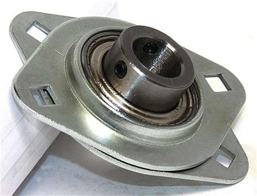 Stamped Steel Flanges : Fyh sbpfl quot stamped oval bolt flanged mounted