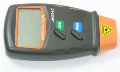 LCD Digital Photo Laser Tachometer Non Contact Tach RPM Measuring Tool