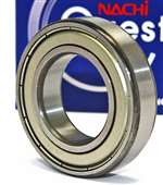 6013ZZE Nachi Bearing Shielded C3 Japan 65x100x18