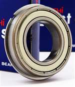 6205ZZENR Nachi Bearing 25x52x15 Shielded C3 Snap Ring Bearings