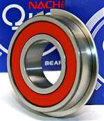 6207-2NSENR Nachi Bearing Sealed C3 Snap Ring Japan 35x72x17 Bearings