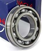 6205NR Nachi Bearing Open C3 Snap Ring Japan 25x52x15