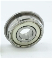 LF520ZZ Flanged  Shielded Miniature Bearing  2x5x2.3