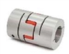 NBK Japan MJS-40CS-RD 12mm to 16mm Jaw-type Flexible Coupling
