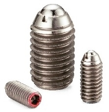 NBK Made in Japan MPS-5-NBK Miniature Heavy Load Stainless Steel Ball Plunger