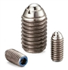 NBK  Made in Japan MPS-5-Z  Miniature Stainless Steel Super Heavy Load Ball Plunger
