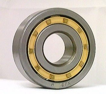 NJ334M Cylindrical Roller Bearing Bronze Cage 170x360x72 Cylindrical Bearings