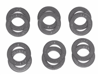 A Pack of 12 Grey seals for 608 Bearings