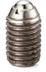 NBK Made in Japan PAFS-10-L-P Miniature Light Load Ball Plunger with Vibration Resistant Treatment