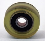 PU6x20x5-2RS Polyurethane Rubber Bearing 6x20x5 C3 Sealed Miniature