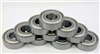 "10 R144ZZ Shielded Bearing 1/8""x1/4""x7/64"" inch Miniature Bearings"