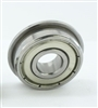 SFR106ZZ flanged Stainless Steel Ball Bearing Bore Dia. 6mm Outside 10mm Width 3mm