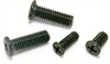 SNZ-M1.7-3-TBZ-NBK 3mm Length Pan Head Machine Screws for Precision Instruments