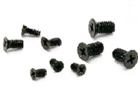 SNZF-M2-3-TBZ-NBK 3mm Long Cross Recessed Flat Head Machine Screws for Precision Instruments