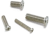 SNZS-M1.4-8  8mm Miniature Stainless Steel Pan Head Machine Screws, Pack of 50