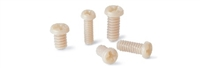 SPE-M1.6-3-MC  NBK 3mm PEEK Plastic Micro Screws
