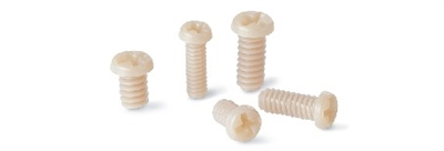 SPE-M1.6-6-MC  NBK 6mm PEEK Plastic Micro Screws