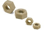 SPE M3 N  6mm  Hex PEEK Plastic Nut